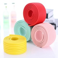 2m Baby Child Kids Table Desk Furniture Edge Corner Safety Guard Protection Security Protector Wide Cushion Pad Crash Bar Strip