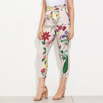 SPRING IS IN THE AIR ANKLE PANTS