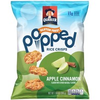 Quaker Popped Rice Crisps, Cinnamon Apple, 7.04 Oz - Walmart.com