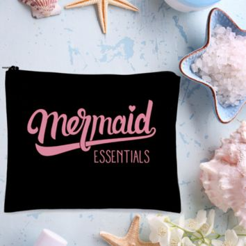Mermaid Essentials Makeup Bag (Black)