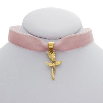 Blushing Rose Choker