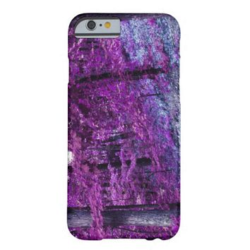 Purple Trees Custom iPhone 6 Barely There Case Barely There iPhone 6 Case