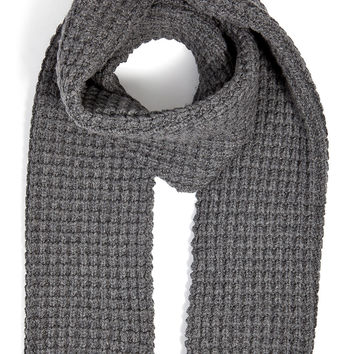 Closed - Wool-Cashmere Waffle Knit Scarf