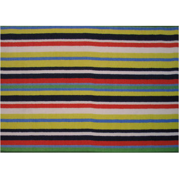 Fun Rugs Fun Time Collection Stripemania Area Rug
