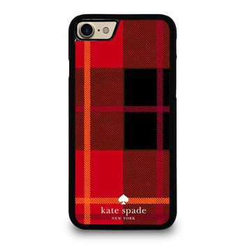 KATE SPADE NEW YORK RED iPhone 4/4S 5/5S/SE 5C 6/6S 7 8 Plus X Case