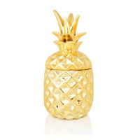 Candle | Gold Pineapple