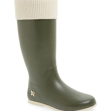 Butterfly Twists 'Vivienne' Knit Cuff Foldable Rain Boot (Women) | Nordstrom