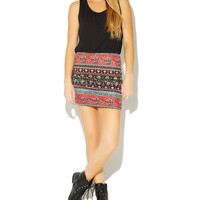 Tribal 2fer Bodycon Dress | Wet Seal