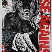 "RISE AGAINST ""WOLF"" POSTER 17x11"