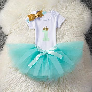 Sequin Newborn Baby Princess Wedding First Birthday Party Dress Girl Baptism Clothes Girls Kids Dress for Girl Tutu Dresses