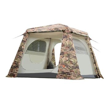 5-8 Person Cloth Tent Camouflage Cabin Tent