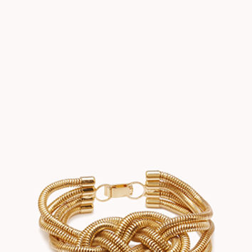 Pretty-Tough Braided Bracelet
