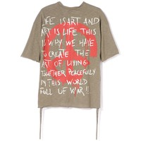 Indie Designs Fear Of God Inspired Freedom Printed T-shirt