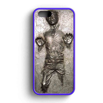 Han Solo Frozen In A Carbonite Block  iPhone 5 Case iPhone 5s Case iPhone 5c Case