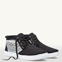 Aztec Canvas High Tops