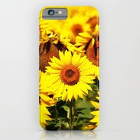 Summer life: sunflower iPhone & iPod Case by Ylenia Pizzetti | Society6