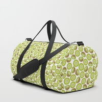 Many Kiwis Duffle Bag by Tanyadraws