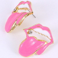 Lip Earring — JibbyJewelsGalore