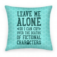 Leave Me Alone To Cry Over The Deaths of Fictional Characters