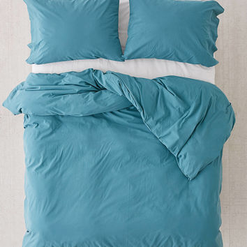 Washed Cotton Duvet Cover | Urban Outfitters