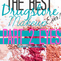 Budget2Beauty: The Best Drugstore Makeup Ever! Part 2: Eyes