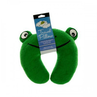 Terry Frog Travel Pillow (pack of 4)