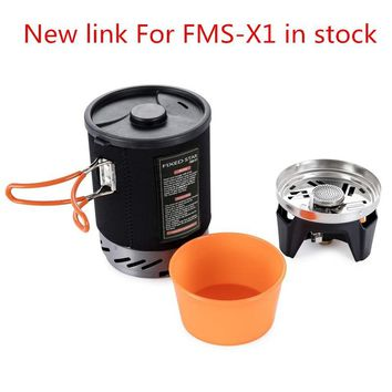 Camping Gas Burners Fire Maple Fixed Star X1 Cooking System With Portable Pot Rack Bowl Stove For Backpacking Outdoor Gas Stoves
