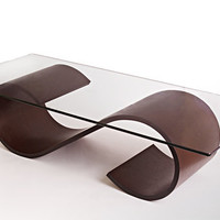 Infinity Table by Richard Judd: Wood Coffee Table - Artful Home