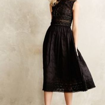 Midnight Romance Midi Dress by Zimmermann Black