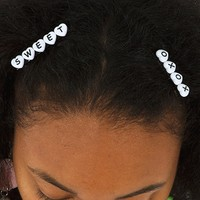 Lovely Text Hair clip