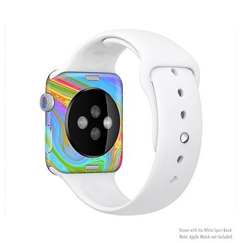 The Neon Color Fushion V6 Full Body Skin Set for the Apple Watch