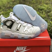 Nike Air More Uptempo Chrome 917593-100 40-46