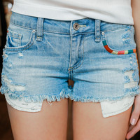 Moonstone Beach Denim Shorts