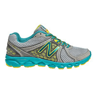 Silver & Green W750v2 Running Shoe - Women