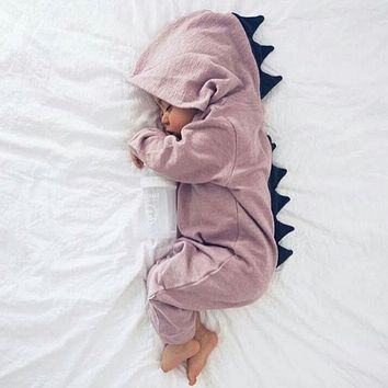 Baby Girl Romper  Newborn Baby Clothes Spring Children Clothing Lovely Dinosaur Clothes Baby Boy Jumpsuit Newborn Pajamas
