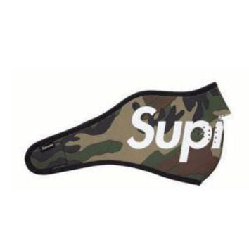 Supreme face mouth mask