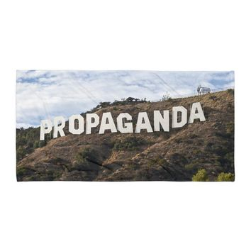 Hollywood Propaganda Beach Towel