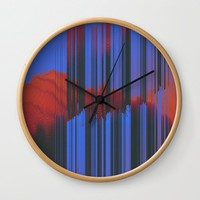 Sunset Melodic Wall Clock by duckyb