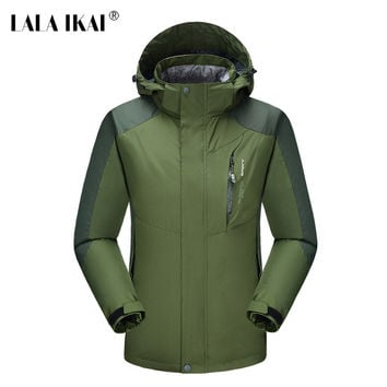 Hiking Jacket Men Climbing Waterproof Trekking Spring Jacket Outdoor Sport Raincoat Windbreaker Camping Fishing Jacket HMA0330-5