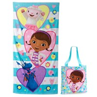 Disney's Doc McStuffins 2-pc. Beach Towel & Tote Set by Jumping Beans