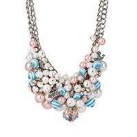 ANCHORS AWAY BAUBLE NECKLACE: Betsey Johnson