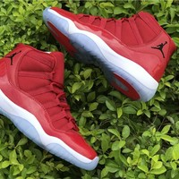 2017 Retro 11 GYM Red Men Women Basketball Shoes 11S XI Athletics Original Outdoor Sports Trainers Sneakers With Box US5.5-13