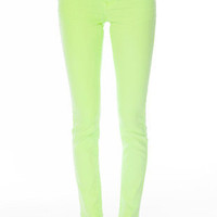 Neon Colored Skinny Jeans $34 (on sale from $78)