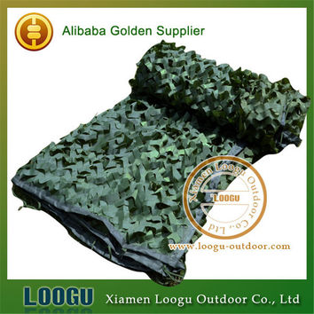 Pure Green Camo Net Filet Camouflage Militaire 2M * 3M Outdoor Camo Net for Hunting Camping Sun Shelter Hide Tent Camouflage Net