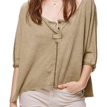 Free People First Base Henley Top | Nordstrom