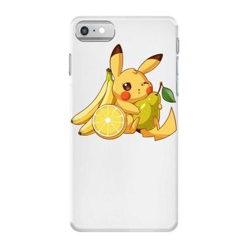 pikachu and fruits iPhone 7 Case