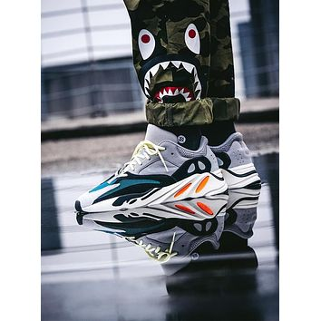 ADIDAS YEEZY 700 trend simple men and women models wild retro casual shoes 1#