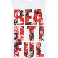 Beautiful Roses Muscle Tank