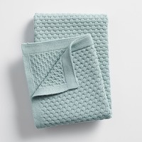 Hexagon Knit Baby Blanket