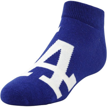 L.A. Dodgers Youth Realistic Mascot Socks - Royal Blue - http://www.shareasale.com/m-pr.cfm?merchantID=7124&userID=1042934&productID=540322968 / L.A. Dodgers